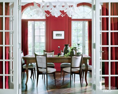 Modern Dining Room Table Decorating Ideas