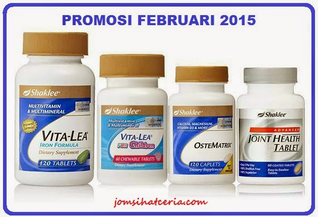 Promosi, Vita-Lea, Chewable Vita-Lea, Ostematrix, Advanced Joint Health Tablet, COD, Order, Produk SHAKLEE, Pengedar Shaklee Kuantan, Independent SHAKLEE Distributor, Keistimewaan SHAKLEE