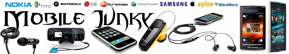 Mobile Junky - Mobile Phones Specifications, Prices, Photos, Review, songs, ringtones
