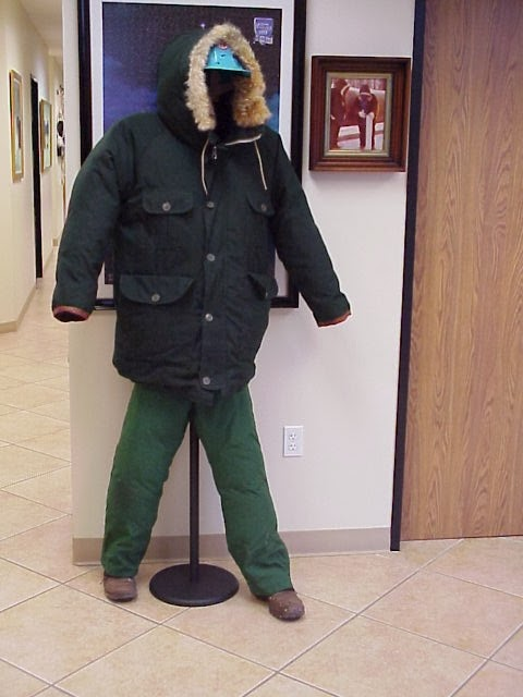 cold weather pipeline clothes