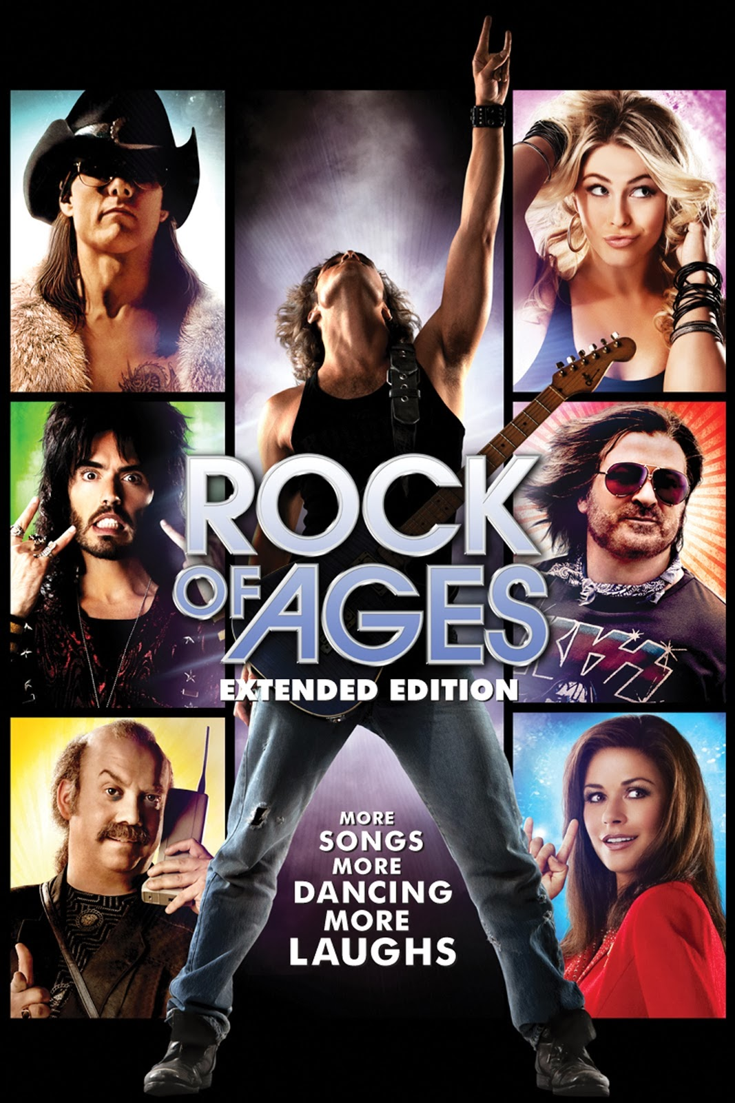 Poster Of Rock of Ages 2012 In Hindi Bluray 720P Free Download