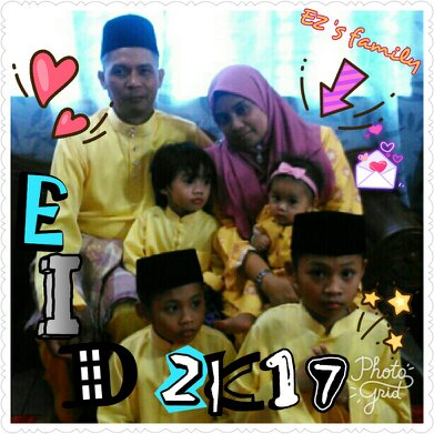 Us... The EZ4H lil'family. Alhamdulillah.. the six of Us. #TQAllah #blessing