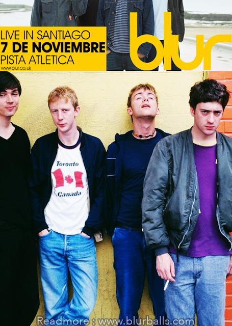 Blur Live in Santiago 7 De Noviembre, La venta de tickets comienza, blur chile tickets, blur tickets 2013, blur tour 2013 chile, blur chile tickets, blur 2013, blur santiago, confirmado blur en chile, blur en chile pisa athletica