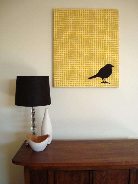 mousehouse: applique bird art tutorial
