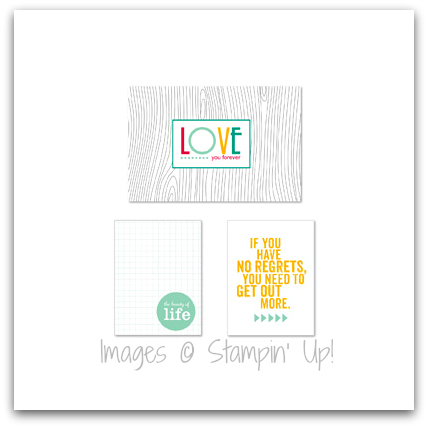Stampin' Up! No Regrets Pocket Cards Digital Downloads