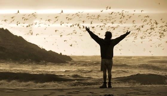 A vida levantando o espírito