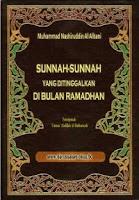 buku sunnah ramadhan yang ditinggalkan alalbani