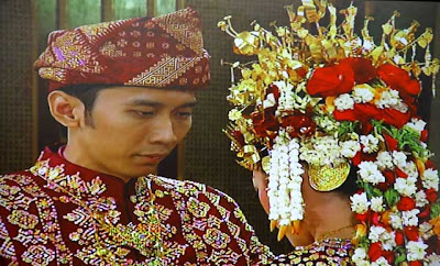 Foto Pernikahan Ibas-Aliya