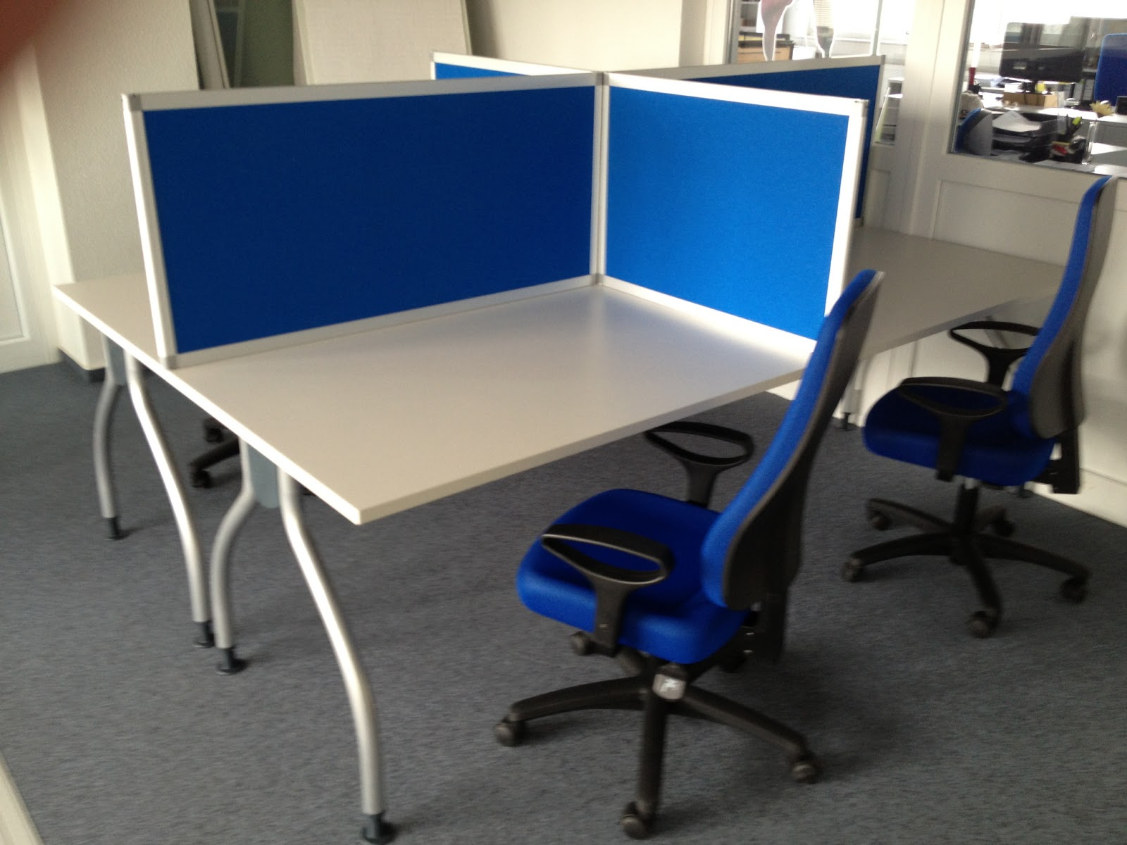 Colour up your office !: Mobile Glaswand Glasschiebewand im Büro und ...