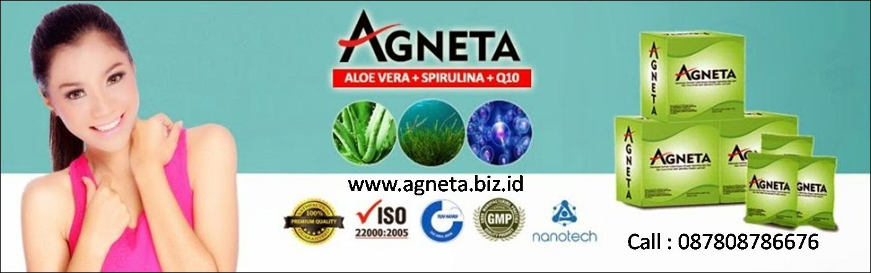 Dicari Agen Agneta di Seluruh Indonesia Hubungi 087808786676  Kami adalah Master Stokis dan Distributor Resmi Produk Agneta Indonesia. kami membuka kesempatan kepada siapa saja untuk menjadi Agen Agneta di Seluruh Kota dan Kabupaten di seluruh Indonesia.      Agneta adalah produk unggulan berkelas premium untuk kecantikan dan kesehatan. Saat ini ada 2 produk Agneta yang menjadi andalan, yaitu :     Agneta Soy Milk + L-Glutathione + Collagen     Agneta Aloe Vera + Spirulina + Q10