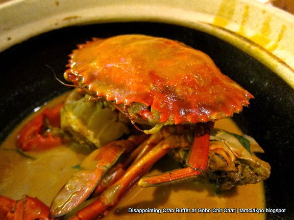Disappointing Crab Buffet at Gobo Chit Chat
