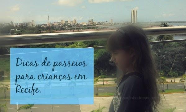 Passeios para criança em Recife