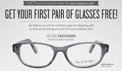 Free Glasses from Coastal.com
