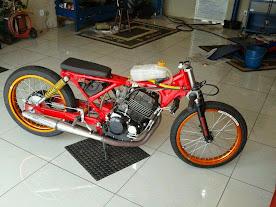 Motor Drag Brazil basic mesin CBX 250cc