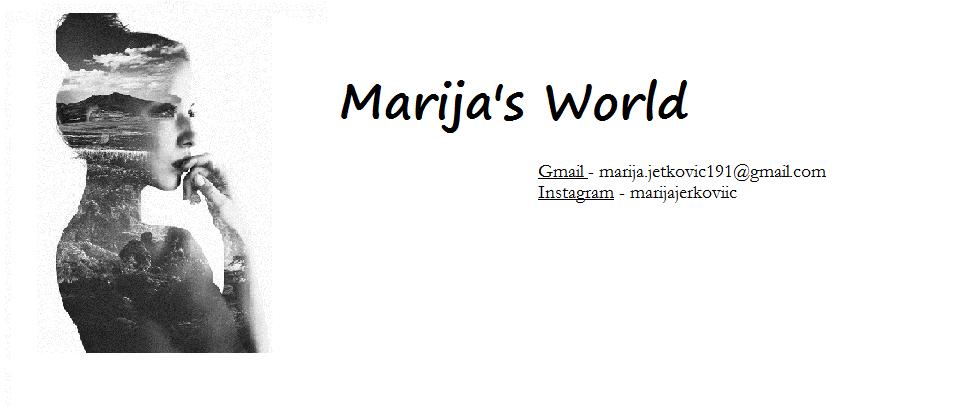 Marija's world