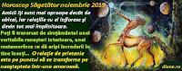 Horoscop Săgetător noiembrie 2015