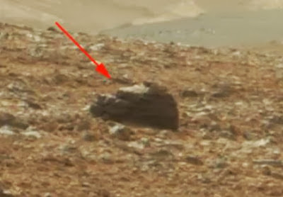 Opportunity Rover Spots Strange Stone Formation On Mars