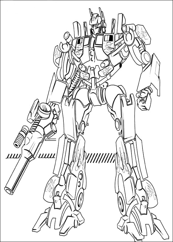 Coloring Pages Transformers : Transformers coloring pages free printable