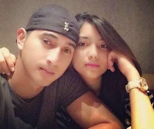 Foto Ali Syakieb bersama pacarnya, Citra Kirana