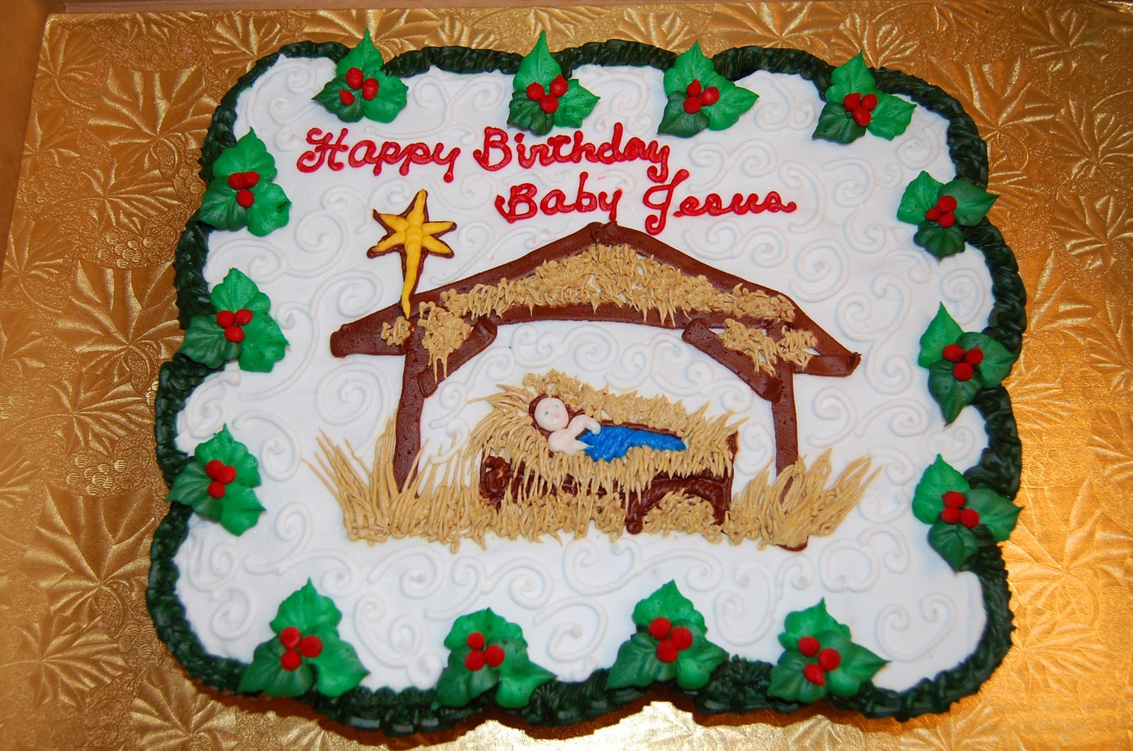 Bella Bambino Happy Birthday Baby Jesus Day