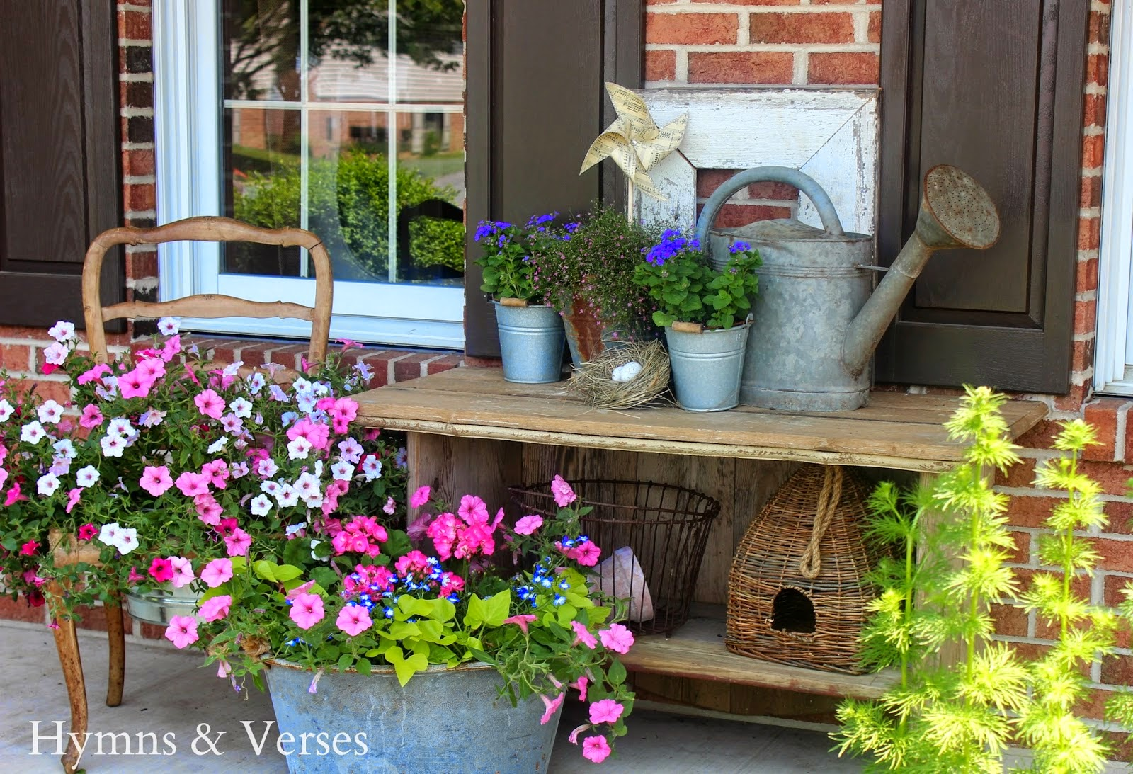 From My Front Porch To Yours- How I Found My Style Sundays- Hymns & Verses
