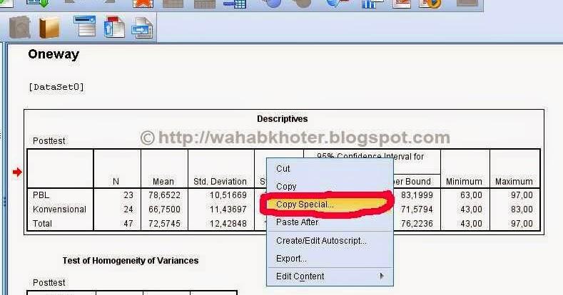Cara copy paste outputtabel spss ke msword guru pantura ccuart Gallery