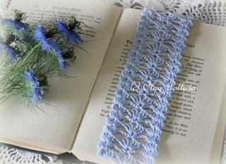 Blue Lace Bookmark, $2.65