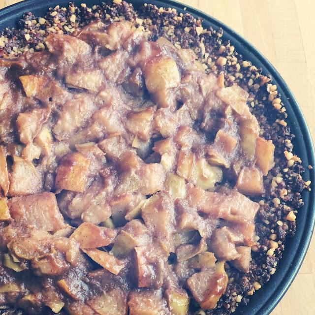 Gluten free pear tart