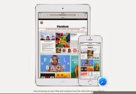 Inilah fitur baru dari iOS 8, foto dan video - Handoff