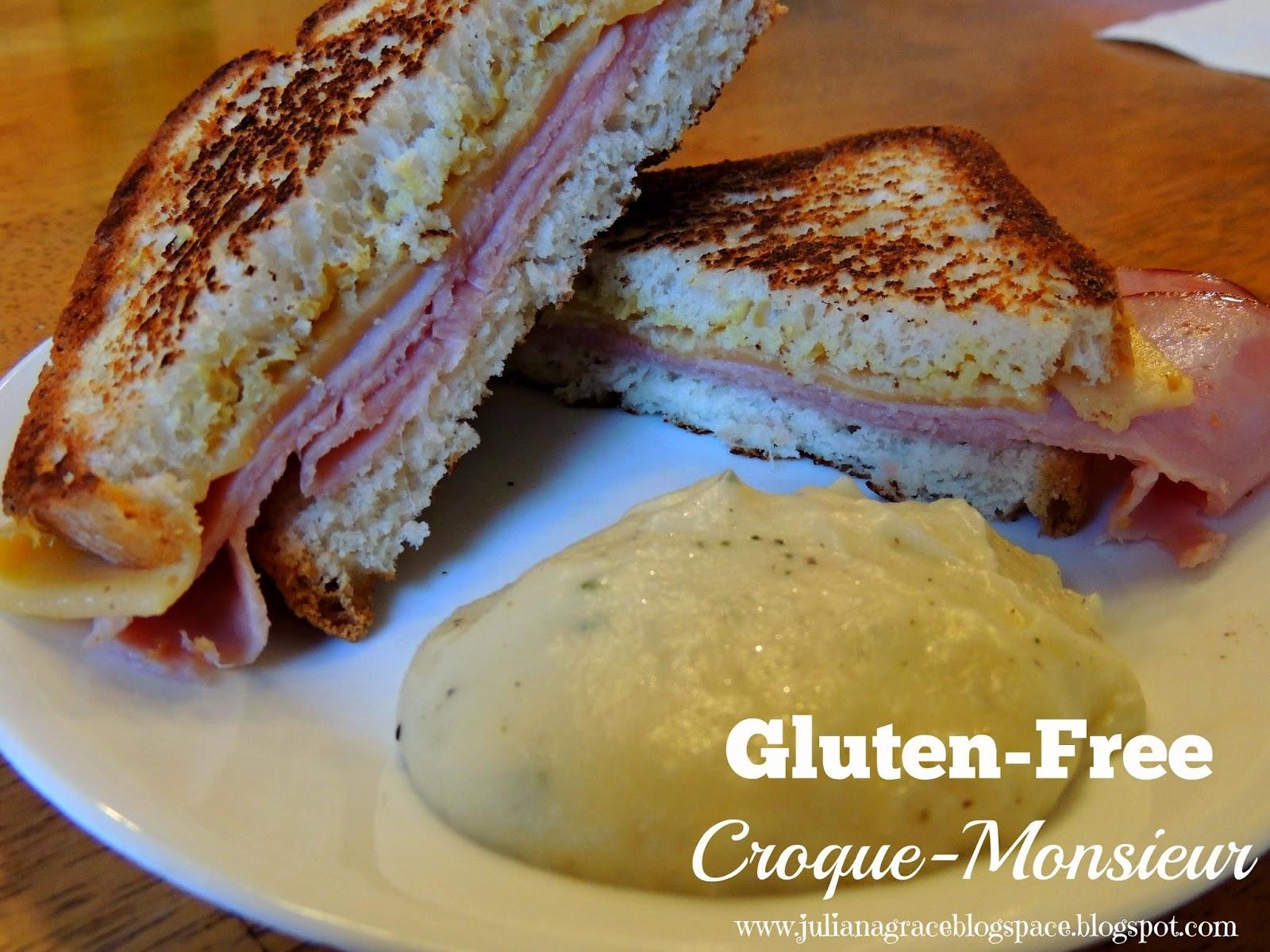 Gluten Free Croque-Monsieur - Juliana Grace