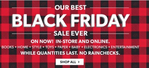 Chapters Indigo Black Friday Best Sale Ever
