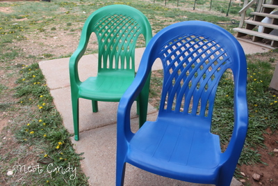 Nest Candy Money Saving Monday How To Spray Paint Plastic Patio Chairs