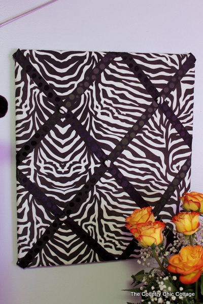 Superb The fabric came from Hobby Lobby and was clearanced at a yard That tone on tone black ribbon also came from Hobby Lobby at