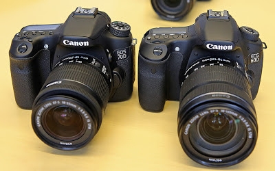 Canon EOS 70 D vs Canon EOS 60D, new canon DSLR camera