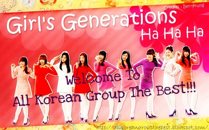 All Korean Group The Best 한국어 그룹 베스트