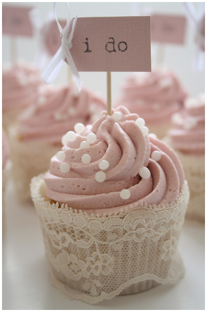 Lace Cupcake Wrapper