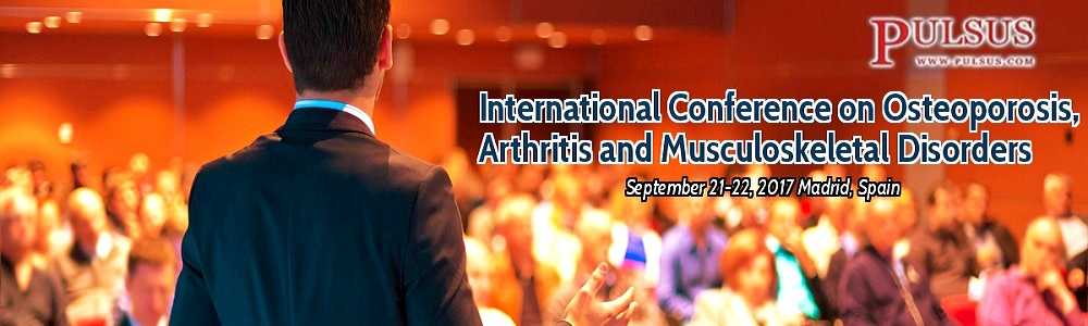 International Conference on Osteoporosis, Arthritis and Musculoskeletal Disorders