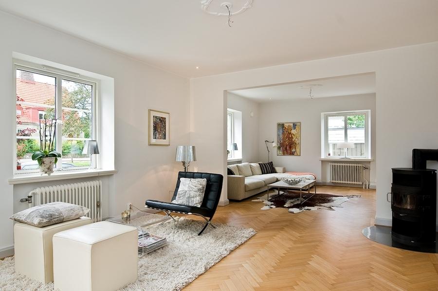 Hogares frescos ordenada casa con estilo n rdico - Casa estilo nordico ...