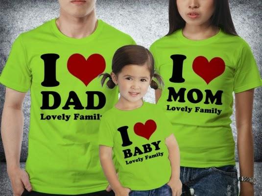 kaos keluarga