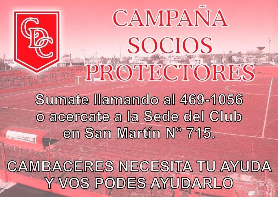 CAMPAÑA SOCIOS PROTECTORES