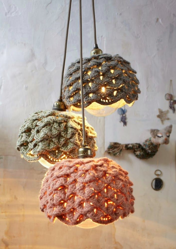 matin lumineux abat jour crochet part 1. Black Bedroom Furniture Sets. Home Design Ideas