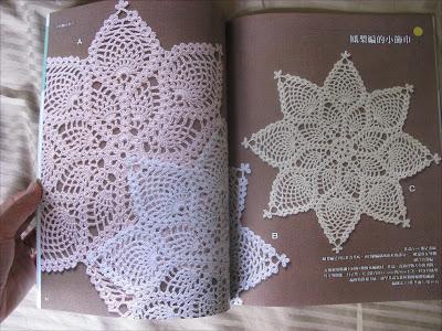 Crochet Lace Tutorial For Beginner : MyCreativeCard.com: Japanese Crochet Book - Lace Crochet ...