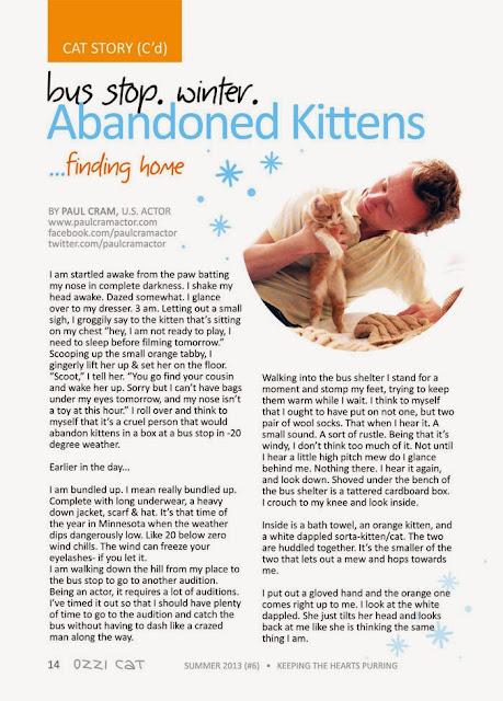 paul cram in ozzie cat magazine
