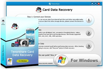 Free Download Tenorshare Card Data Recovery v4.0.2013.1.21 with Crack Full Version