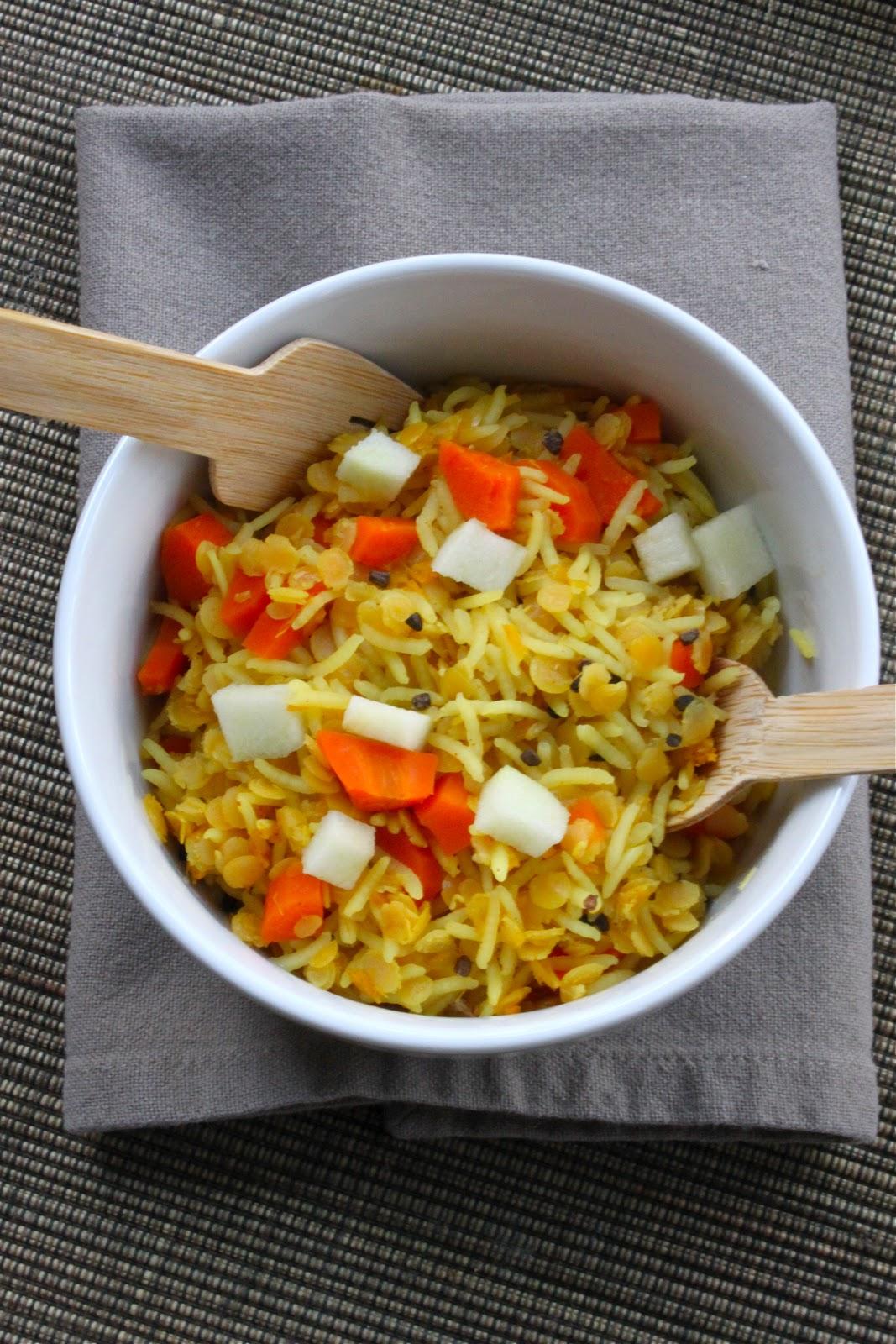 Petits repas entre amis kitchari riz lentilles for Petit repas entre amis