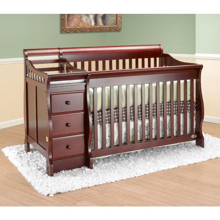 Crib Toddler Bed Combo Sorelle Tuscany 4in1 Convertible
