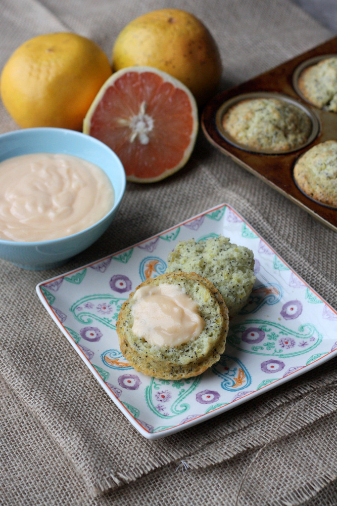 Grapefruit Poppyseed Muffins -- a super delicious variation on the classic.