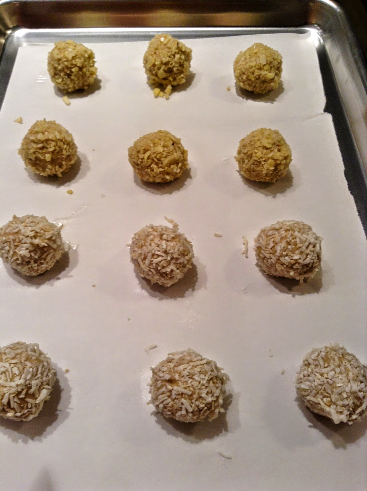 Thimble cookies ready to indent