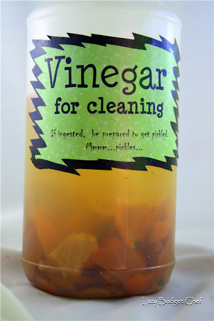 easy orange vinegar cleaner
