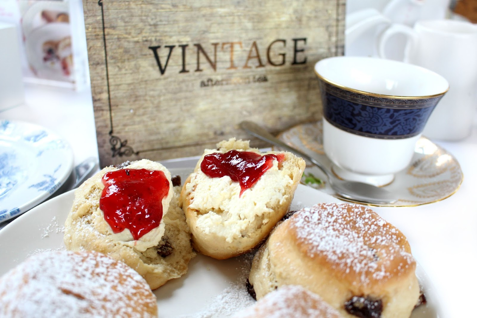 Celtic Manor Vintage Afternoon Tea